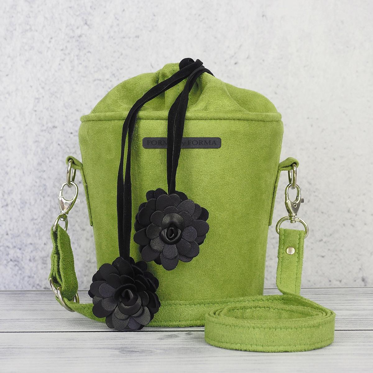 07d80734a8774 Torebka - kuferek zielony - Sklep z torebkami autorskimi